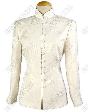Classical Happiness Icon Silk Blouse