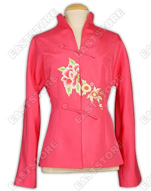 Chic Floral Embroidery Jacket