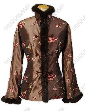 Floral Embroidered Quilted Jacket