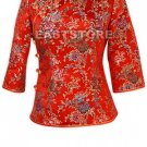 Joyfully Floral Brocade Blouse