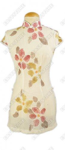 Suave Mini Silk Qipao Style Blouse