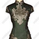 Stunning Burn-Out Silk Blouse