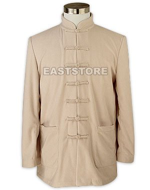 Great Fleece Kung Fu Jacket