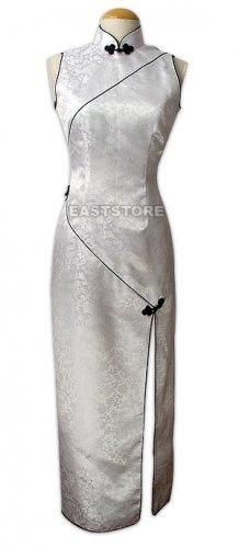 Elegant White Dragon Wedding Dress