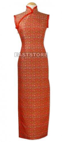 Oriental Whispers Brocade Dress