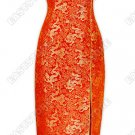 Chinese Dragon Brocade Dress