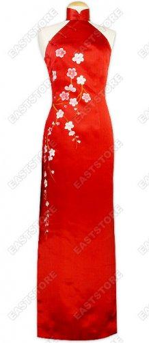 Blossoming Plum Blossom Impressive Dress