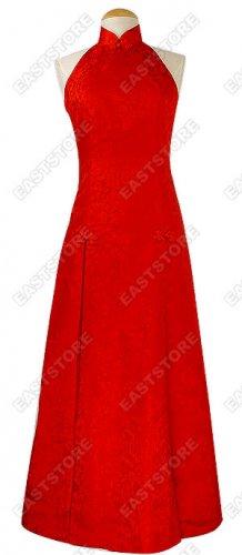 Red Dragon Brocade Wedding Dress