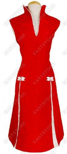 Unique Dragon Brocade Prom Dress