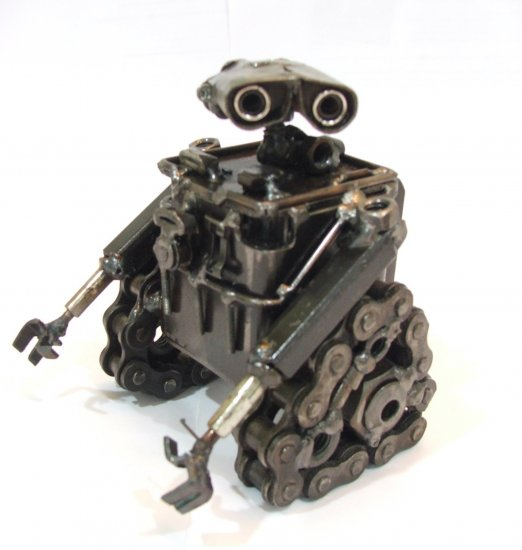 Wall-E Recycle Metal Sculpture Art