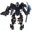 Sport Car Transformer Robot Model (Black)