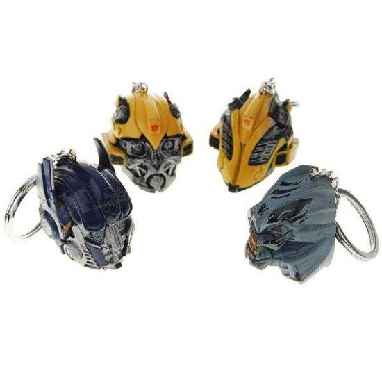 Transformers Robot Model Keychains Set (4-Pack)