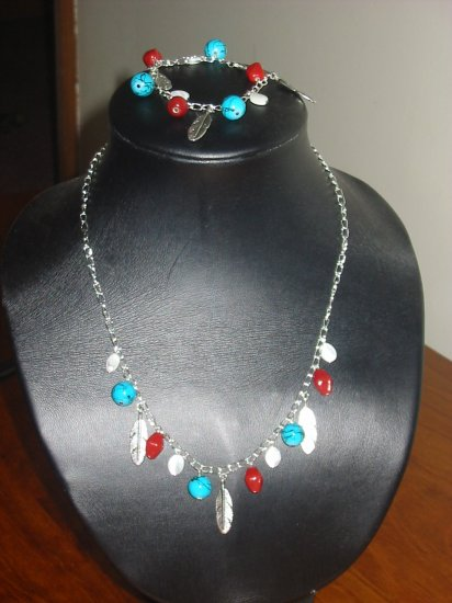 Lola Bracelet & Necklace Set