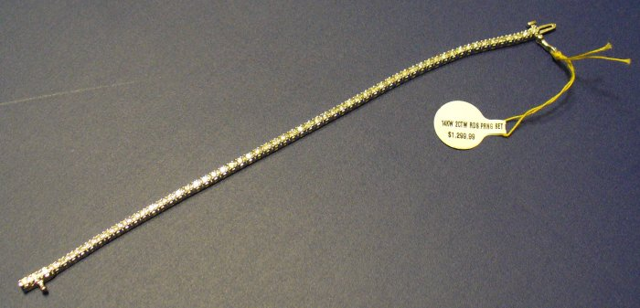 Lady's Diamond Tennis Bracelet