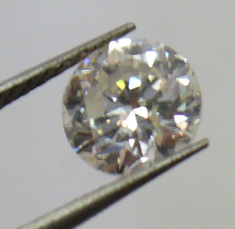 1.01ct Brilliant Diamon with GEM Scan