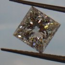 1.02ct Brilliant Princess G color Diamond with GIA