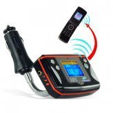 Bluetooth Car Kit for Bluetooth Calls and MP3 Music