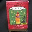 HALLMARK Ornament CRAYOLA KING of the RING 2000 CHRISTMAS KEEPSAKE