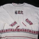 Sweater Sz m Ugly  Christmas Party Womens  Northern Reflections Xmas Stockings
