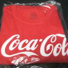 Coca Cola T shirt New in Package sz M REd Fruit of the LOom Lofteez HD