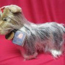 Yorkie Plush Puppy Dog Classic Aurora W Tags Stuffed Animal Vintage 1996