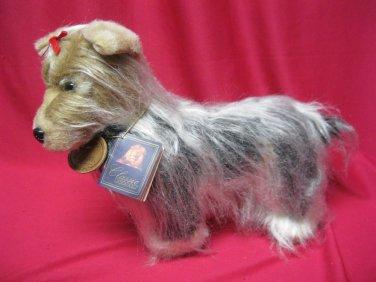 Yorkie Plush Puppy Dog Classic Aurora W Tags Stuffed Animal Vintage 1996