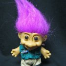 "5"" Russ Troll Doll 18364 Fisherman or Scout Troll Collectible Free Shipping"