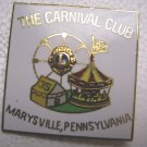 Lions Club Pin Vintage The Carnival Club Marysville PA Pennsylvania