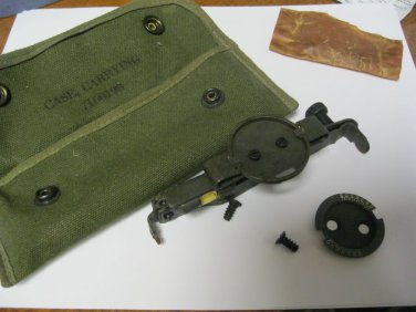 WWII WW2 MILITARY SIGHT GRENADE Launcher M15 by SL Co. W CASE 7160198