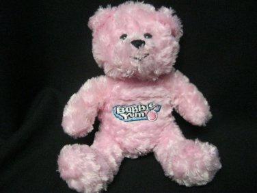 Bubble Yum Pink Bear Plush Stuffed Animal 2005 Hershey Company Advertisement