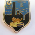 Lions Club Pin Thompson Manitoba North of 55 Vintage Rare