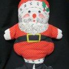"""Vintage Santa Claus Hand Sewn  Looks handmade 18"""""""