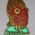 Lions Club Pin Vintage Rare Turkey Beltsville MD Tack back