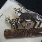 LIONS CLUB  PIN 1979 PENNSYLVANIA NIP NEW  DEER  PA