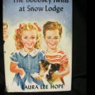 The Bobbsey Twins at Snow Lodge By Laura Lee Hope 1941 Vintage Book HC DJ