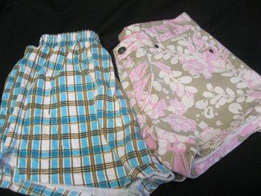 Shorts ARIZONA Jeans SZ 14 Soffe SZ M 2 pair shorts