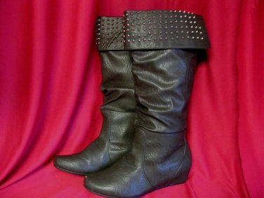 Boots Sz 9 Womens Ladies Brown