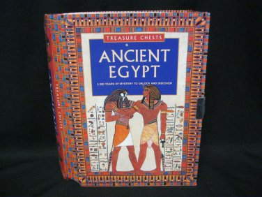 Ancient Egypt Treasure Chest Scarab Game Rubber Stamp Stickers Hieroglyph + More