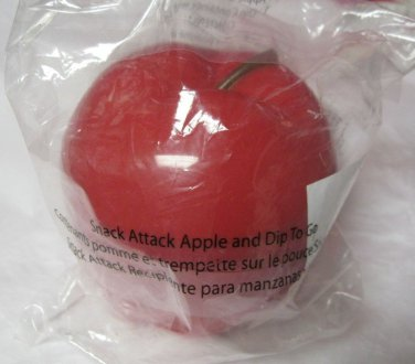 Avon Snack Apple & Dip to go Container w Lid New Kids Lunch  travel