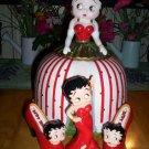 Betty Boop Cookie Jar and Salt/Pepper Shakers