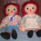 Raggedy Ann and Andy Set