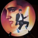 Elvis Plate, Blue Suede Shoes