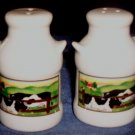 Vintage Salt and Pepper Shakers, Cows