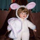 Porcelain Bunny Doll
