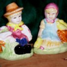 Vintage Salt and Pepper Shakers, Hansel & Gretel