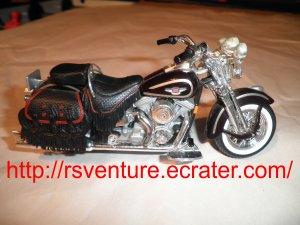 Vintage Maisto 1997 Harley Davidson FLSTS Heritage Springer