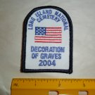 Long Island National Cemetery Decoration of Graves Patch 2004