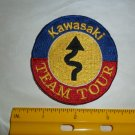 Vintage Kawasaki Team Tour Patch