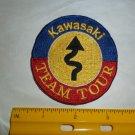 Vintage Kawasaki Team Tour Patch