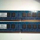 RAM - NANYA 2x512MB NT512T64U88A0BY-37B